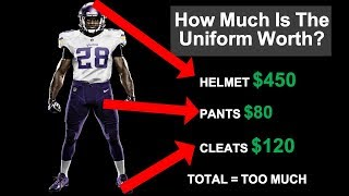 How Much It Cost To Dress An NFL Player (And Most NCAA Players)