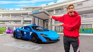 Exploring Worlds Biggest Dream House!! (The Wish Mansion Tour)