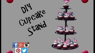 EASY DIY Cupcake Stand | Diy Dollar Tree Cupcake Stand