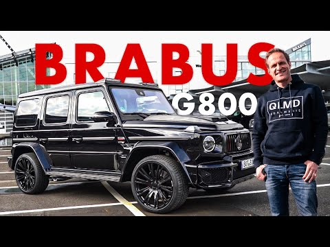 BRABUS G800   800PS   Die heftigste G-Klasse   Matthias Malmedie