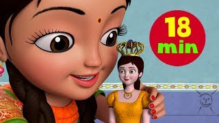 Gudiya Rani Badi Sayani – Baby Doll Song and More | Hindi Rhymes for Children | Infobells