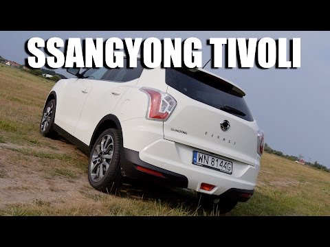 SsangYong Tivoli (ENG) - Test Drive and Review