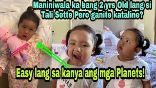 Bunso Ni Vic Sotto Na Si Tali Grabe Ang Katalinohan Sa Edad Na 2! Pauleen Luna Proud Mom