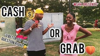WSHH QUESTION | CASH💰 or GRAB🍑 | Public Interview🎬 | 🎇4th Of July Edition🎇|