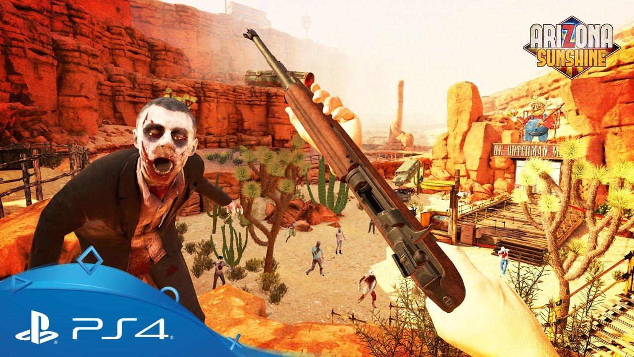 La prossima settimana, potrete scoprire due nuove mappe Orda per il thriller multigiocatore zombi per PS VR Arizona Sunshine