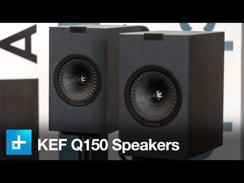 KEF Q150 Bookshelf Speakers – Hands On Review