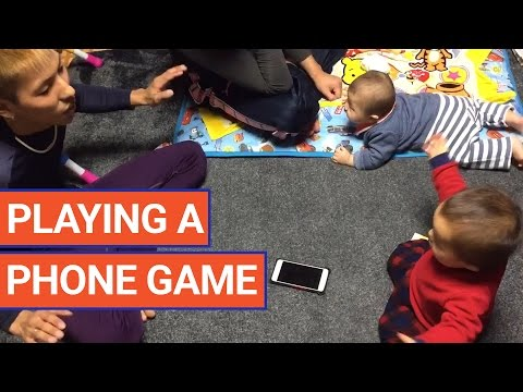 Baby Plays Game to Race for Phone Video 2017   Daily Heart Beat