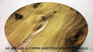 Laxa coffee table by Railis Design