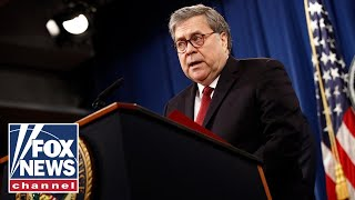 Barr: DOJ has not found widespread voter fraud