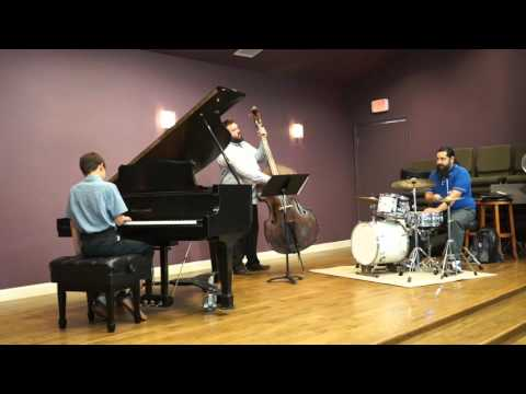 One of my students performing Joe Zawinul's Mercy, Mercy, Mercy at one of our recitals.