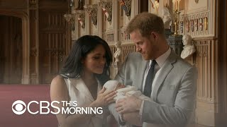 Royal Baby Introduced By Parents Prince Harry And Meghan Markle