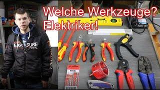 Welche Werkzeuge? Elektriker / Grundausstattung