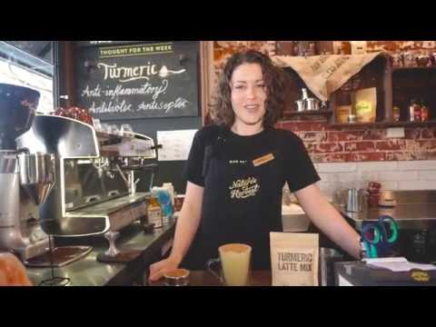 How to make Turmeric Latte at Your Cafe