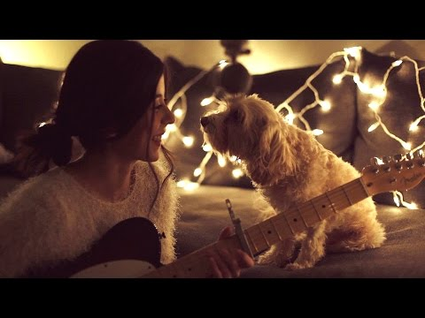 新年了,要给狗狗唱首歌