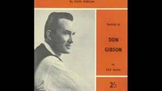 Don Gibson Sings 'I Thought I Heard You Calling My Name.'