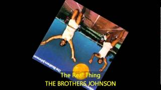 Brothers Johnson - The Real Thing video