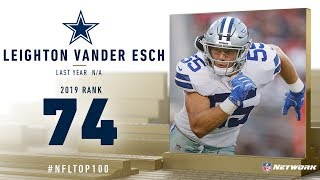 #74: Leighton Vander Esch (OLB, Cowboys) | Top 100 Players of 2019 | NFL