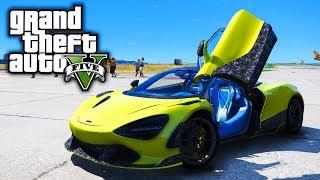 McLaren 720s Drag Day! GTA 5 Real Life Mod #102 (Real Hood Life 3)