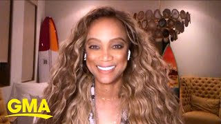 New 'DWTS' host Tyra Banks shows us her best dance moves l GMA