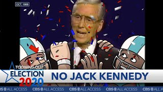 """GREAT MOMENTS IN DEBATE HISTORY: """"Senator, you're no Jack Kennedy,"""" says loser thumbnail"""
