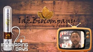 LAB BIOCOMPANY - Benvenuto aux amateurs de gouts tabac !