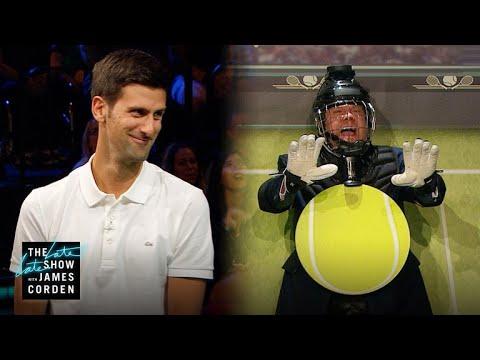 Target Practice w/ Novak Djokovic