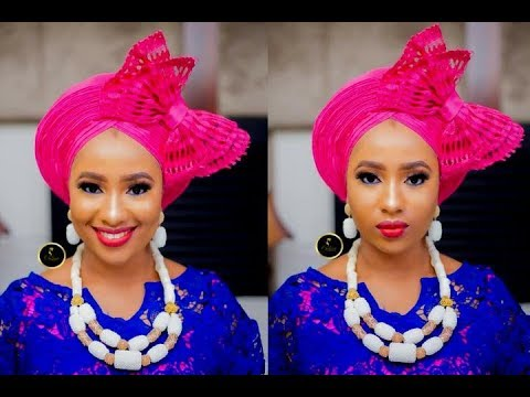How To Tie The New Bow Pleeted Gele