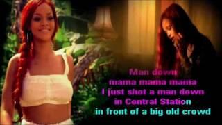 Rihanna   Man Down Karaoke Com Back Vocal