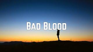 Taylor Swift - Bad Blood (Lyrics)