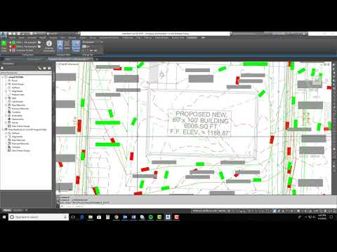 What's New in Civil 3D 2019 - Using the Drawing Compare Feature
