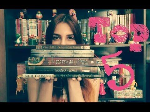 Os 5 livros mais bonitos da minha estante / Top 5 por Simone Fonseca