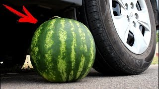 EXPERIMENT: CAR VS WATERMELON