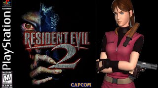 Resident Evil 2 (PlayStation) - (Longplay - Claire Redfield | Scenario B | Normal Difficulty)