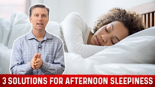 Overcome an Afternoon Slump With 3 Easy Solutions | Dr. Berg