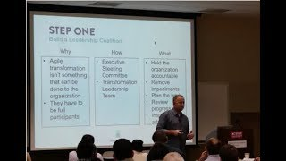 How to Lead Agile Transformation: Safe, pragmatic organization wide agile adoption
