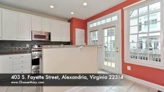 Mary Farrell Presents Old Town Village: 403 S Fayette Street, Alexandria, VA 22314