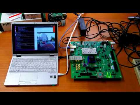 Getting started with Xilinx USP ZCU104 and