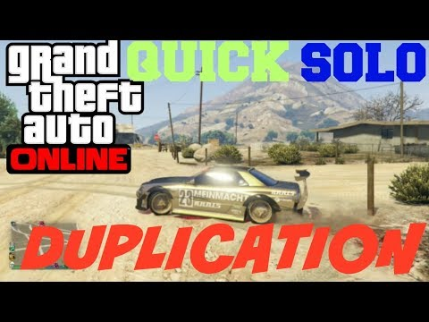GTA 5 SOLO Car Duplication Glitch ***PATCHED***