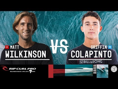 Matt Wilkinson vs. Griffin Colapinto - Round Three, Heat 4 - Rip Curl Pro Bells Beach 2018
