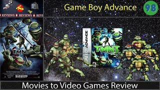 Movies to Video Games Review - TMNT (GBA)