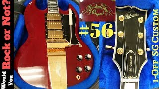Custom Order or Counterfeit SG Custom? | Would You Rock or Not Ep. 56