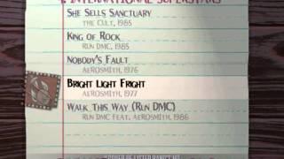 Guitar Hero:Aerosmith Song List
