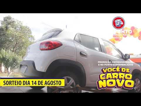 Sorteio Carro 0 KM Promoção No Ponto Supermercados.
