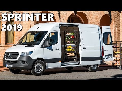 2019 Mercedes Sprinter (Panel Van) Exterior, Interior, Driving