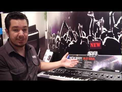 NAMM 2012: Korg SV-1 Black and Limited Edition SV1-RV