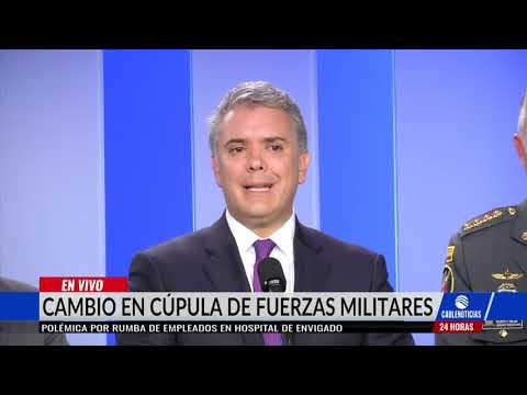 Cambios en la Cúpula Militar de las Fuerzas Militares de Colombia.