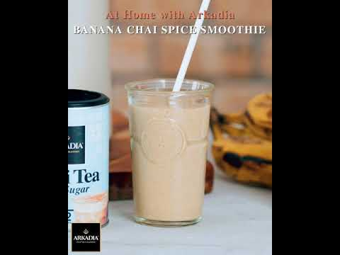 Banana Chai Spice Smoothie Recipe