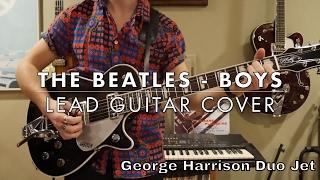The Beatles - Boys Lead Guitar Cover