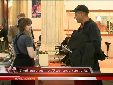 2 mil. euro pentru 70 de târguri de turism