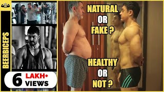 Aamir Khan's DIRTY SECRET - Dangal Transformation Natural? BeerBiceps Steroids Talk